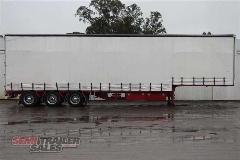 cimc 45ft drop deck curtainsider semi trailer with mezz decks 408769 001