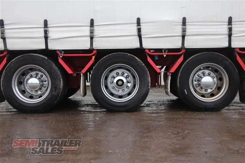 cimc 45ft drop deck curtainsider semi trailer with mezz decks 408769 008