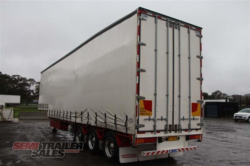 cimc 45ft drop deck curtainsider semi trailer with mezz decks 408769 015