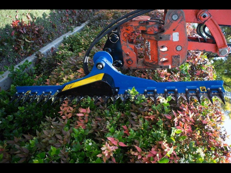rhino hydraulic hedge trimmers. 2500 mm suit 1.5t to 8.0t excavators [hc250][atttrim] 419971 004