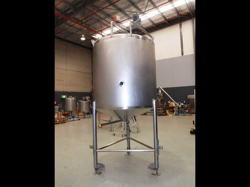 stainless steel mixing tank 3,000lt 419887 003