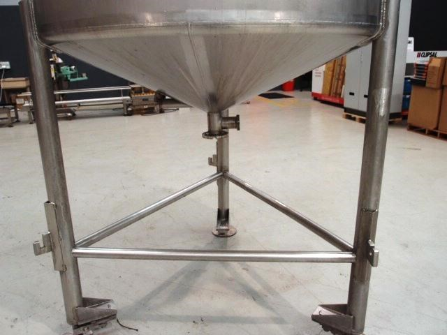 stainless steel mixing tank 3,000lt 419888 007