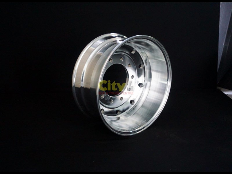 "rims 10/285 9.00x22.5 9"" offset polished alloy 421719 005"