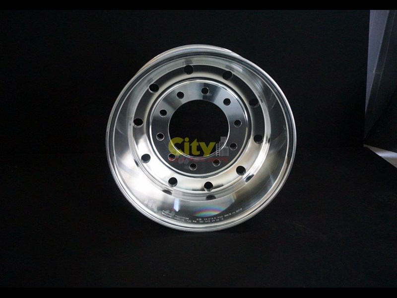 "rims 10/285 9.00x22.5 9"" offset polished alloy 421719 007"