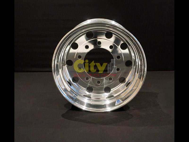 alcoa 12.25x22.5 lvl1 supersingle zero offset alloy wheel 421733 003