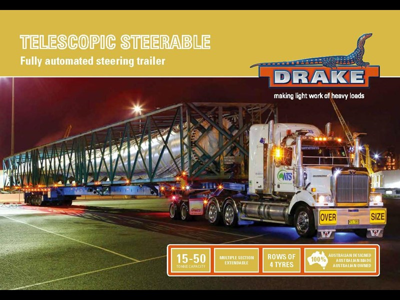 drake telescopic extendable steerable 421825 009