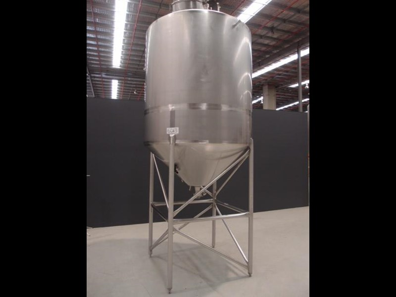 stainless steel mixing tank 3,000lt 419880 001