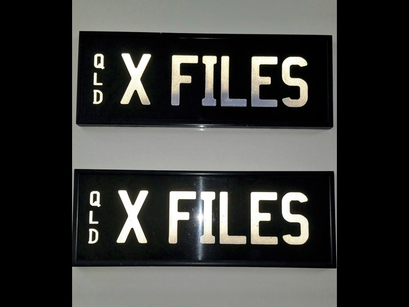 number plates x files 422223 001