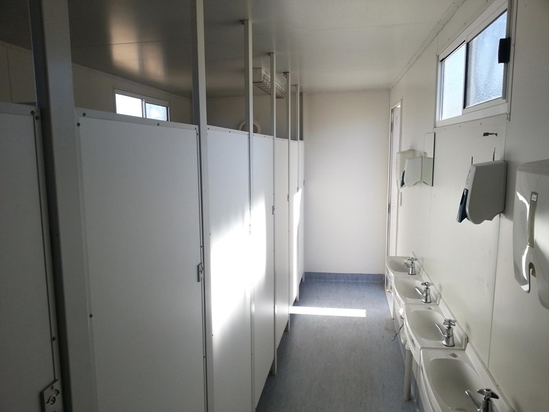 e i group portables used 6m x 2.5m ablution building 422237 013