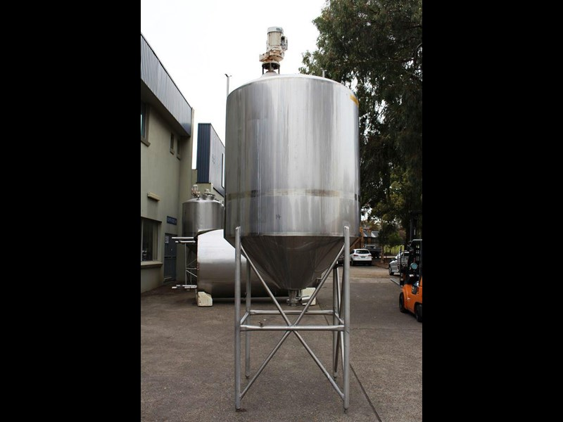 stainless steel mixing tank vertical 422536 001