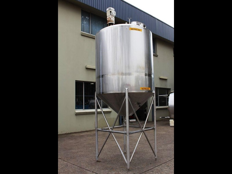 stainless steel mixing tank vertical 422536 003