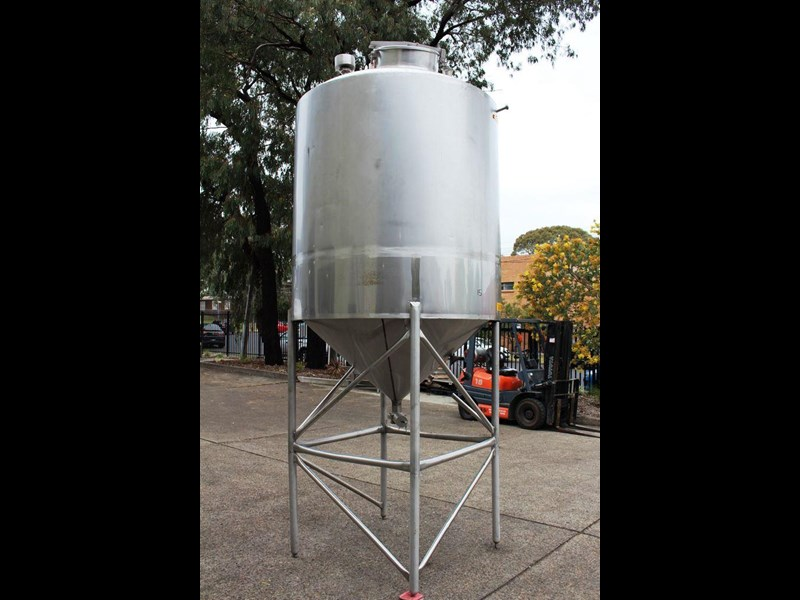 stainless steel mixing tank vertical 422545 002
