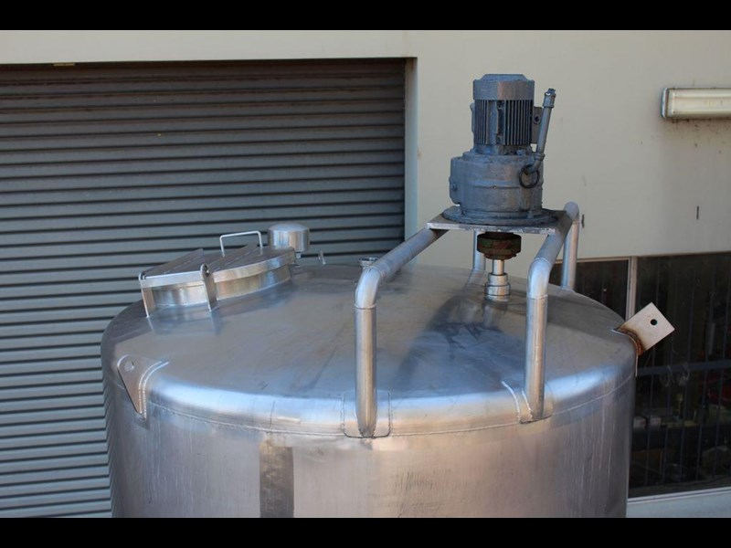 stainless steel mixing tank 3,000lt 422568 007