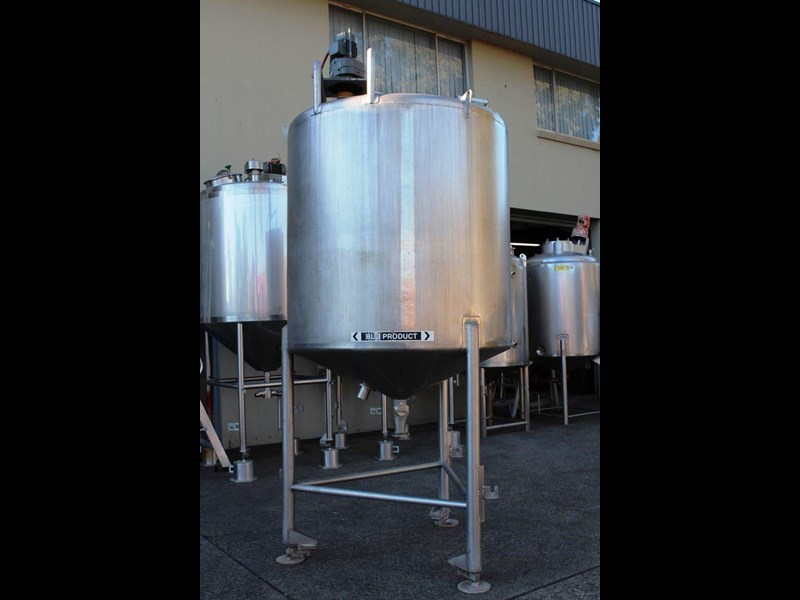 stainless steel mixing tank vertical 422572 005