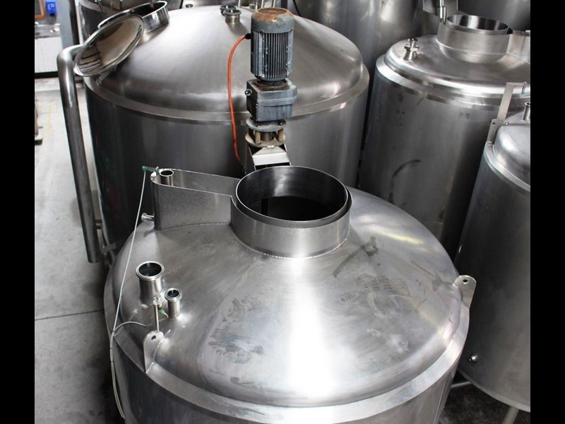 stainless steel jacketed mixing tank vertical 422582 007