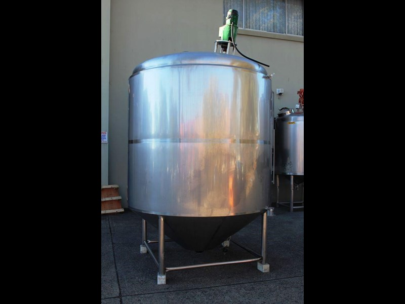 stainless steel mixing tank 6,500lt 422591 005