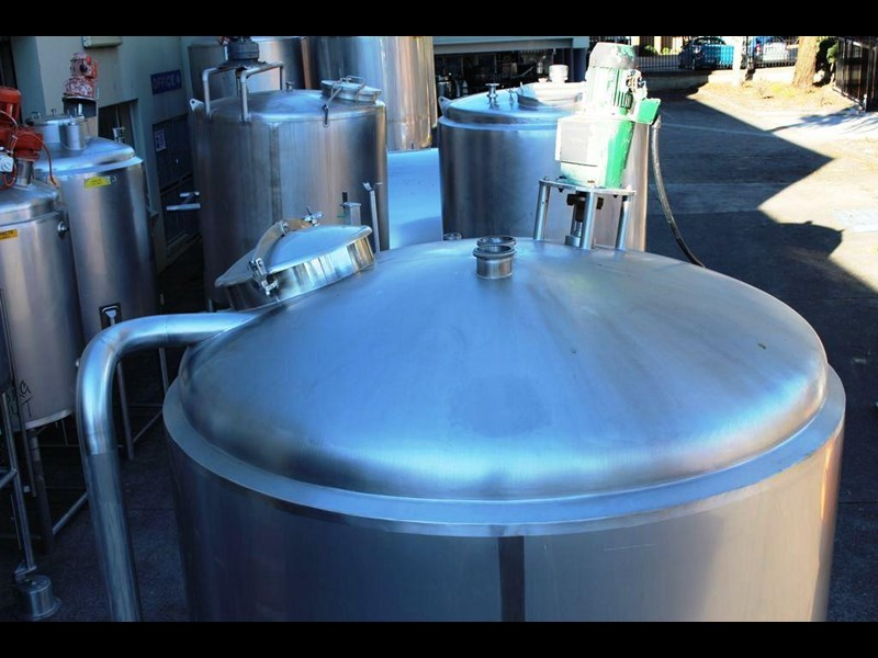stainless steel mixing tank 6,500lt 422591 007