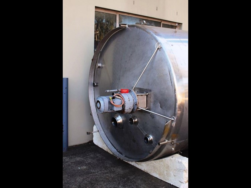 stainless steel mixing tank 8,000lt 422592 003