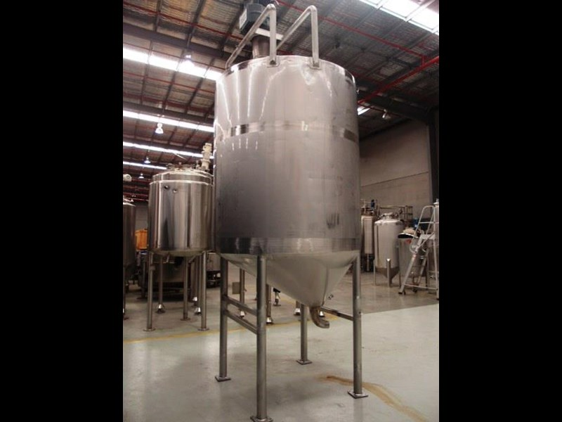 stainless steel mixing tank 4,000lt 419903 003