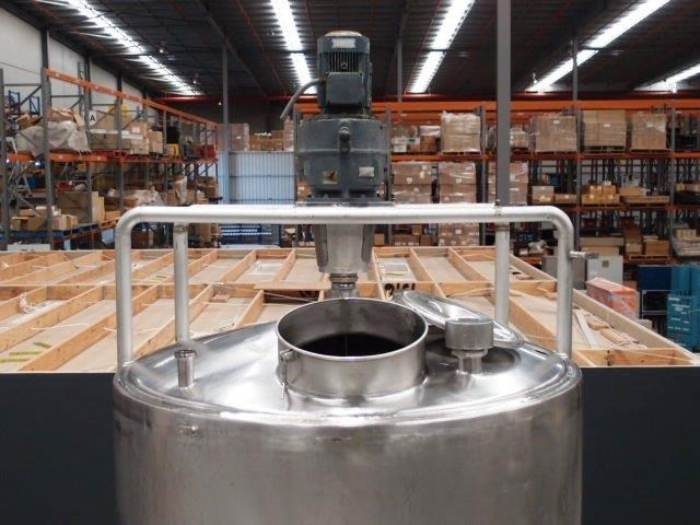 stainless steel mixing tank 4,000lt 419903 007