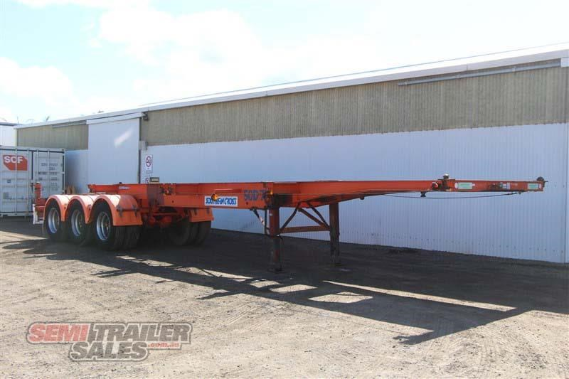 southern cross 40ft skel semi trailer with 3 way pins 422769 002