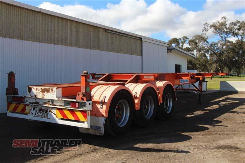 southern cross 40ft skel semi trailer with 3 way pins 422769 003