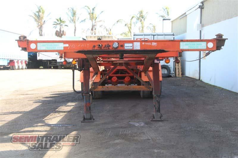 southern cross 40ft skel semi trailer with 3 way pins 422769 004