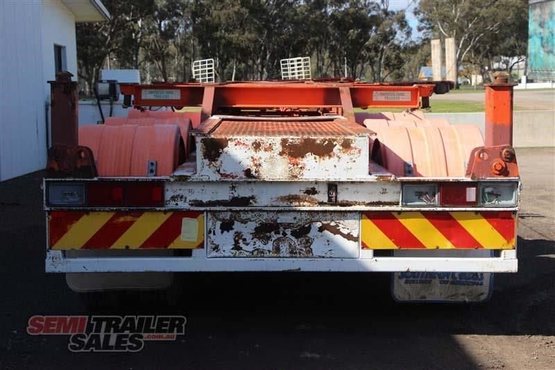 southern cross 40ft skel semi trailer with 3 way pins 422769 005