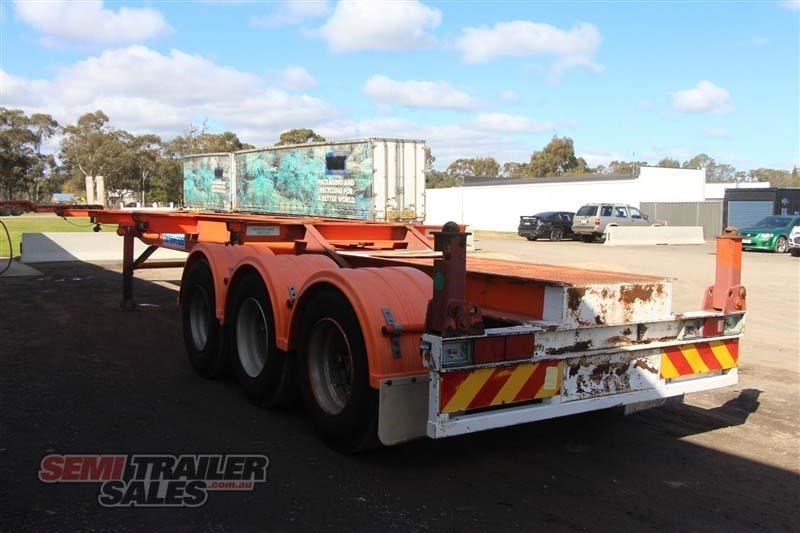 southern cross 40ft skel semi trailer with 3 way pins 422769 012