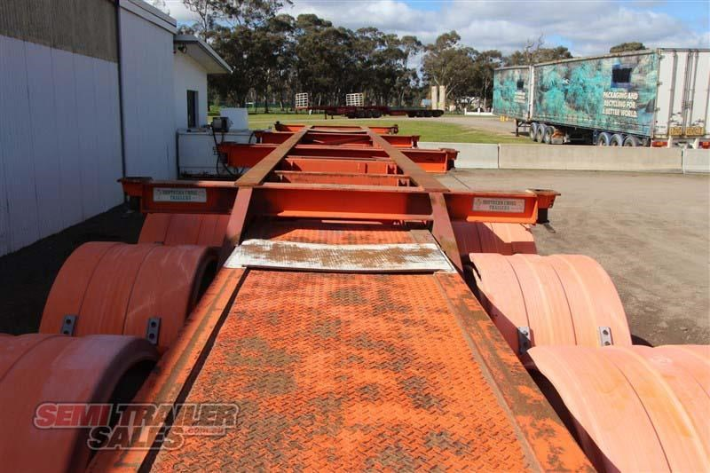 southern cross 40ft skel semi trailer with 3 way pins 422769 013