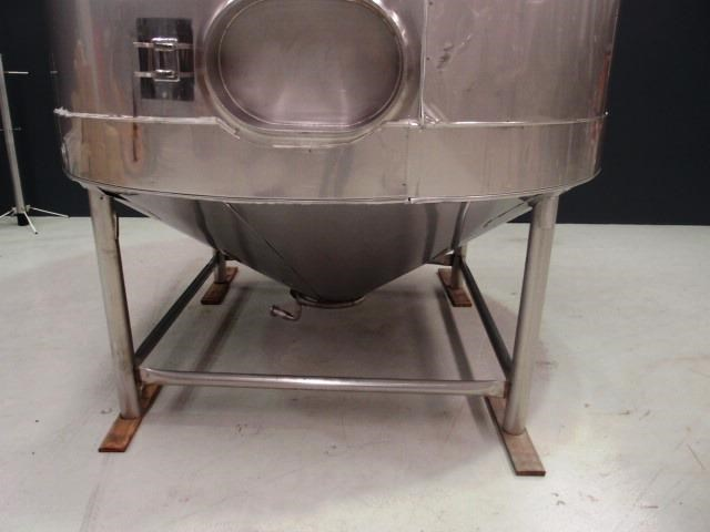 stainless steel jacketed mixing tank vertical 419875 002