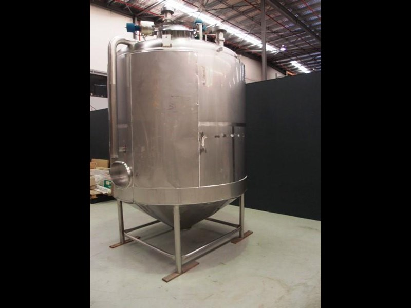 stainless steel jacketed mixing tank vertical 419875 007