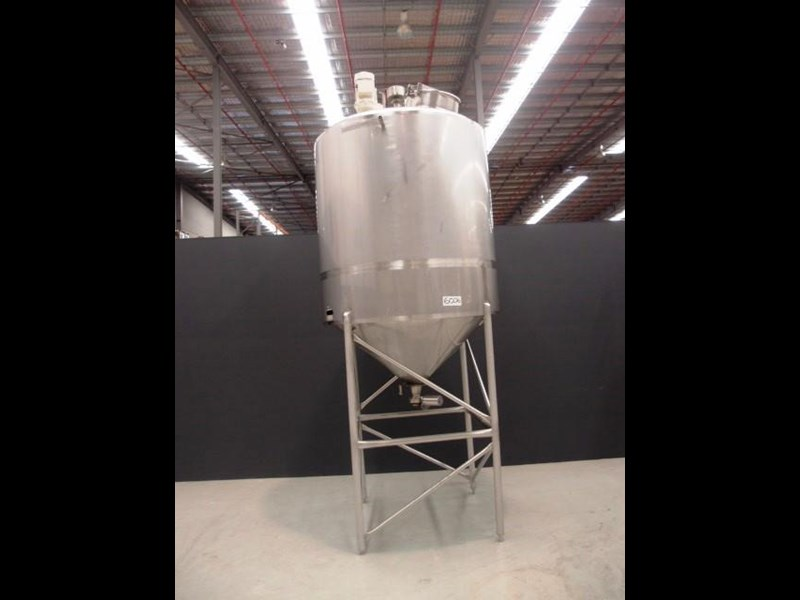 stainless steel mixing tank 3,000lt 419871 011