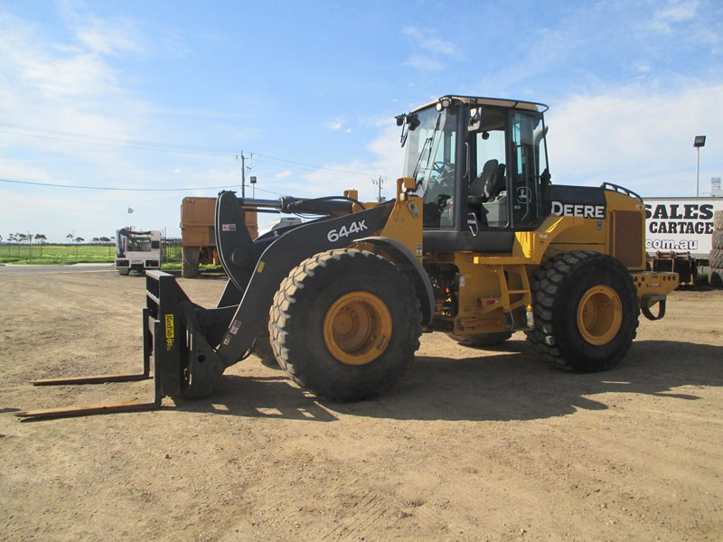 john deere 644k (also available for hire) 423084 009