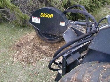digga skid steer stump grinder 423177 007