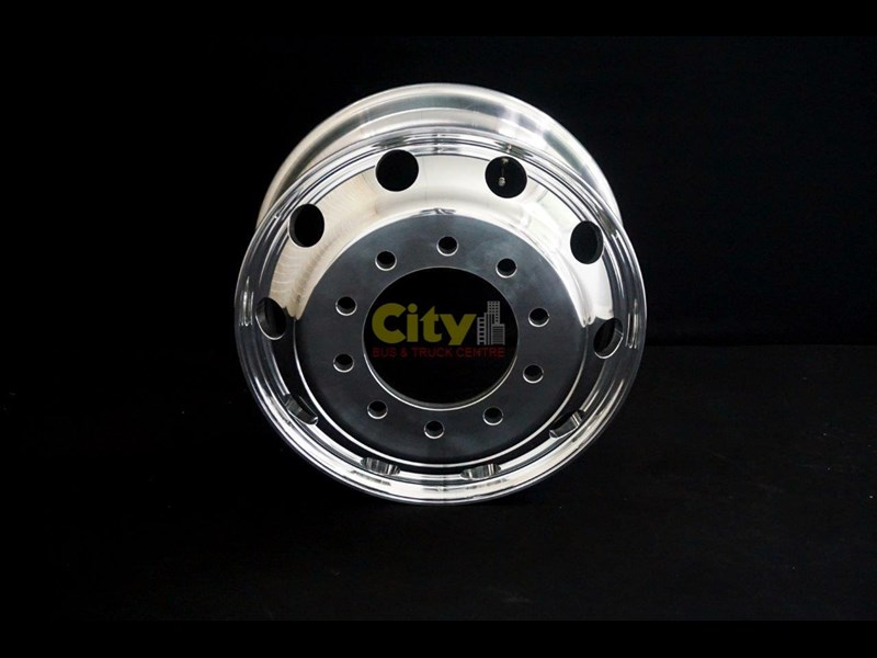 rims 10/285 8.25x22.5 polished drive alloy rim 424064 005