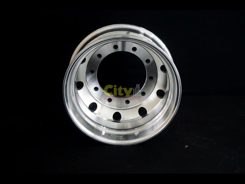 rims 10/335 8.25x22.5 machined alloy rim 424102 009