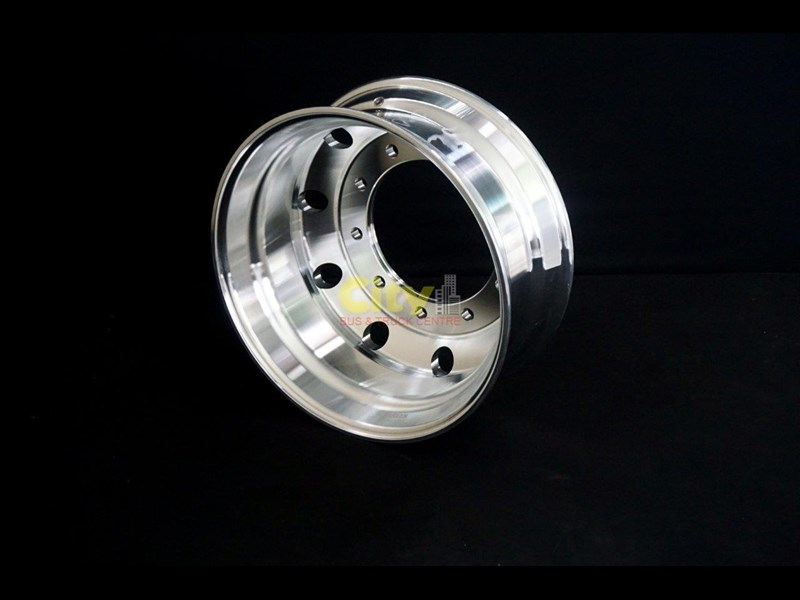 rims 10/335 8.25x22.5 machined alloy rim 424102 011