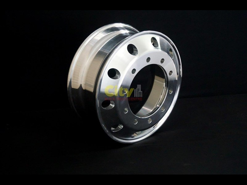 rims 10/335 8.25x22.5 machined alloy rim 424102 001