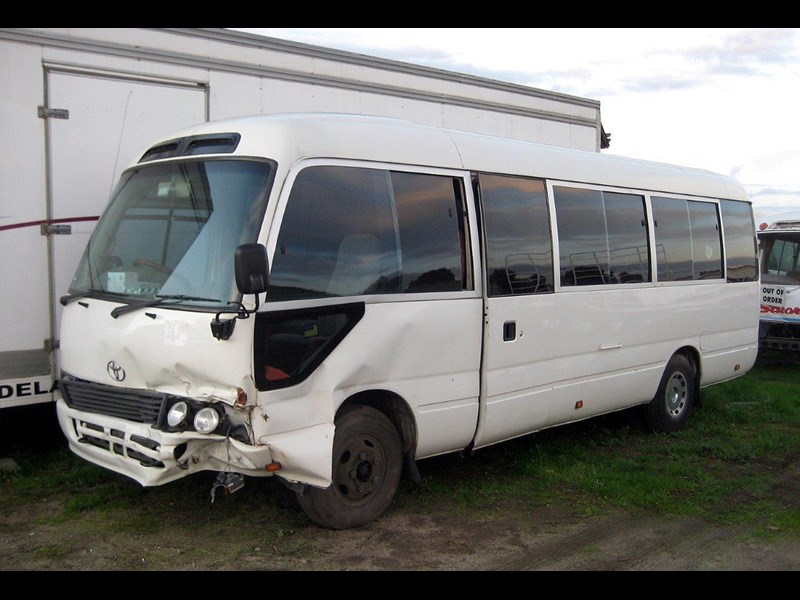 1996 toyota coaster 50 series hzb50r now wrecking for sale. Black Bedroom Furniture Sets. Home Design Ideas