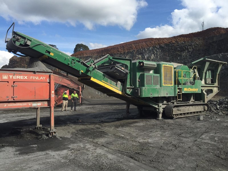 mccloskey j50t jaw crusher 417288 001