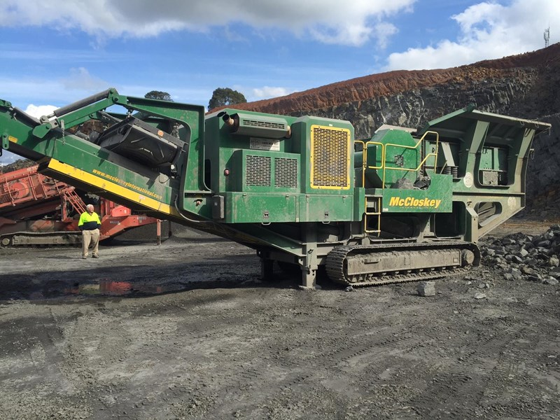 mccloskey j50t jaw crusher 417288 005