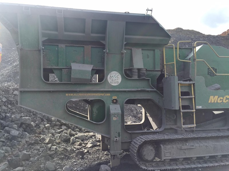 mccloskey j50t jaw crusher 417288 007