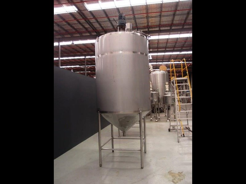 stainless steel mixing tank 4,000lt 425197 003