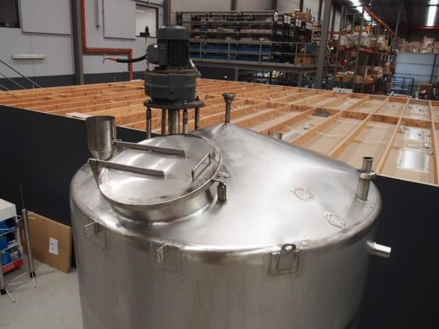 stainless steel mixing tank 4,000lt 425197 007