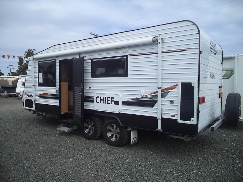 chief feather (ensuite) semi off road 425215 003