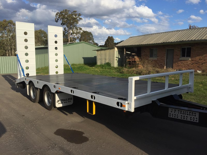 jp trailers mini tandem axel plant trailer 425292 001