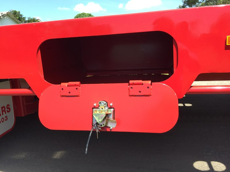 jp trailers red single axel plant trailer 425295 005