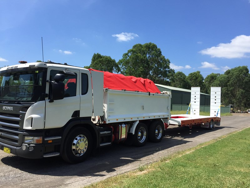 jp trailers red single axel plant trailer 425295 021