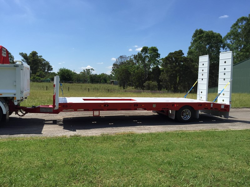 jp trailers red single axel plant trailer 425295 029